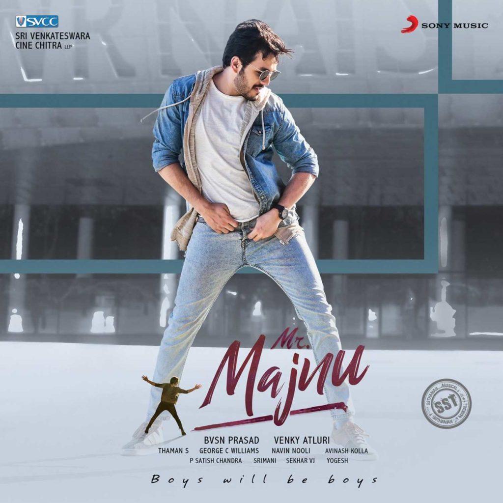 Akhil in movie Mr. Majnu