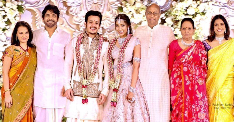 Akhil Akkineni-Shriya Bhupal wedding