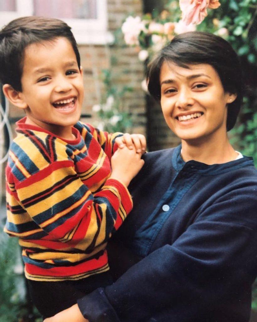 Akhil Akkineni in his childhood