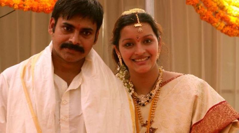 Renu Desai and Pawan Kalyan marriage picture