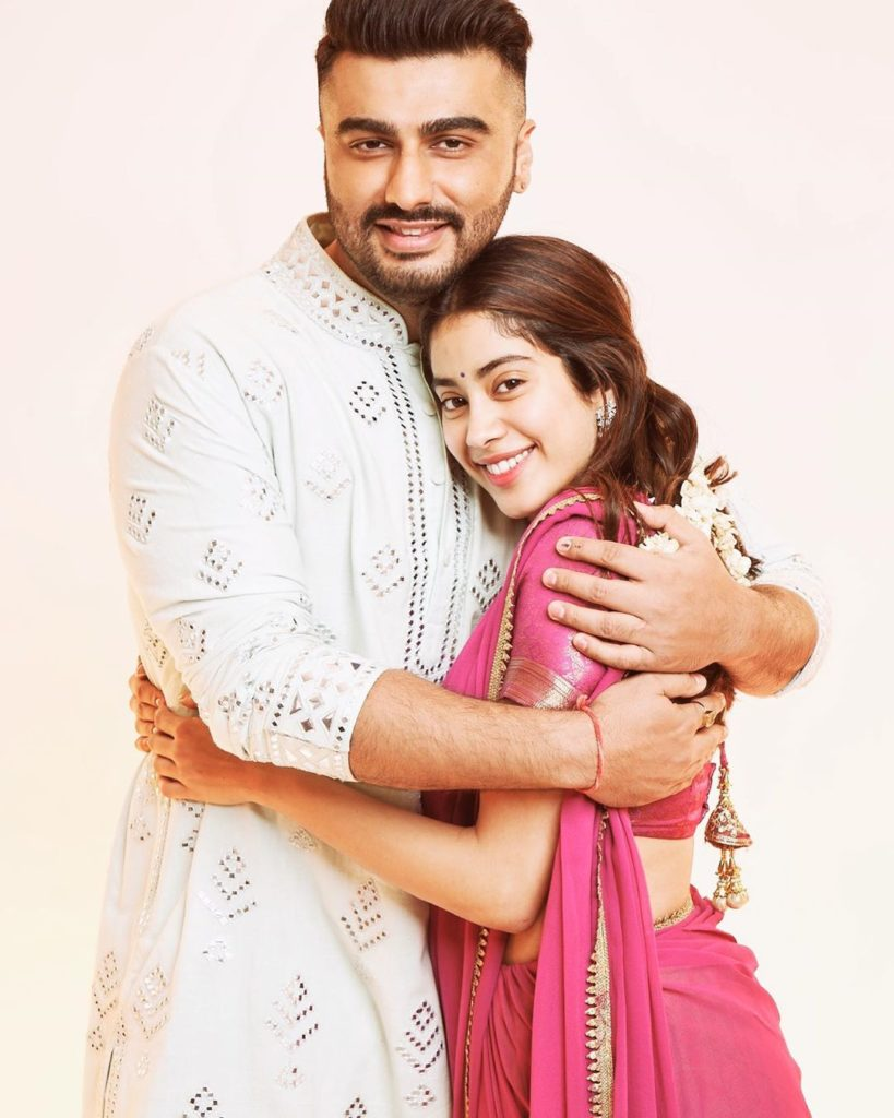 Jhanvi's half-sibling Arjun Kapoor