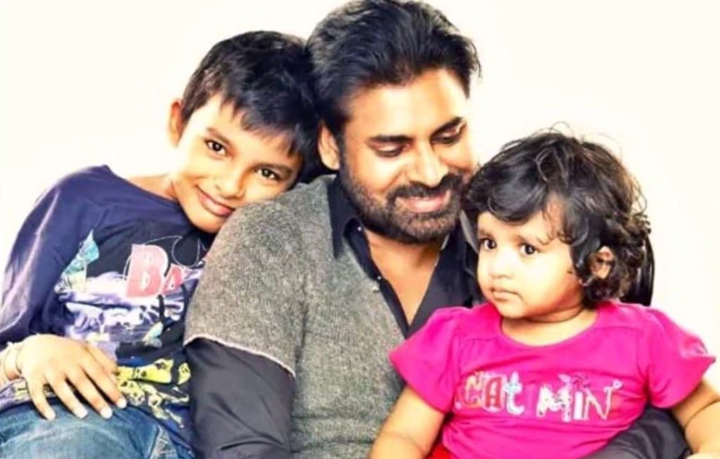 Pawan kalyan childrens with 2nd wife