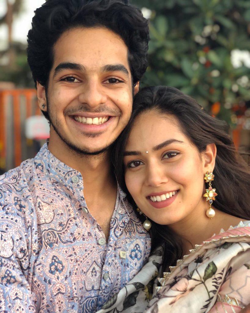 Mira kapoor with Ishaan Khatter
