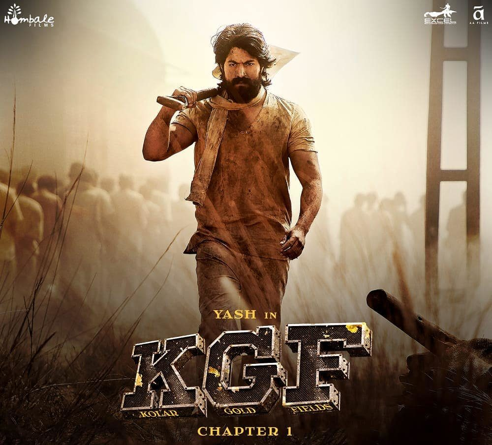 Yash in film Kgf chapter 1