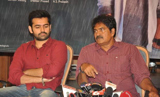 Ram Pothineni with his uncle Sravanthi Ravi Kishore