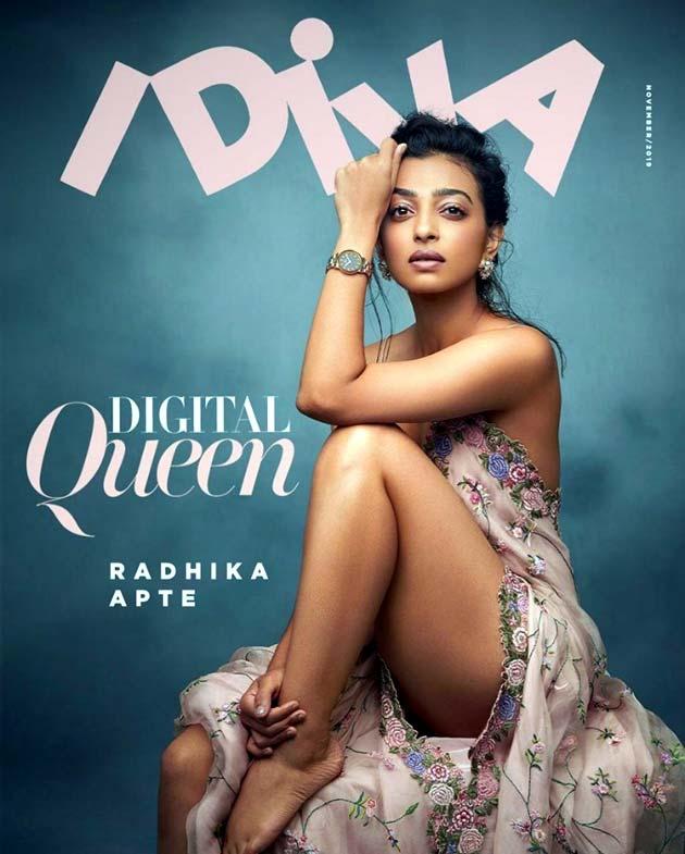 Radhika Apte in iDiva magazine cover