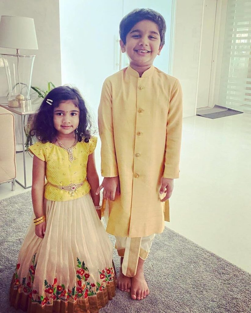 Allu Arjun Children's