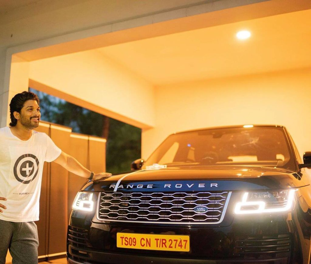 Allu Arjun Range Rover Luxury SUV Worth Rs 2.33 Crore