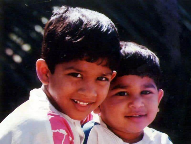 Allu Arjun as a Child