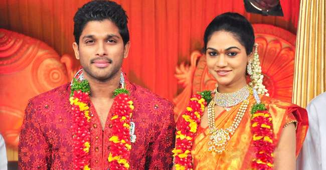 Allu Arjun marriage pictures