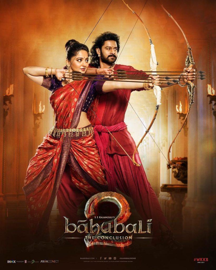 Anushka Shetty in Baahubali series