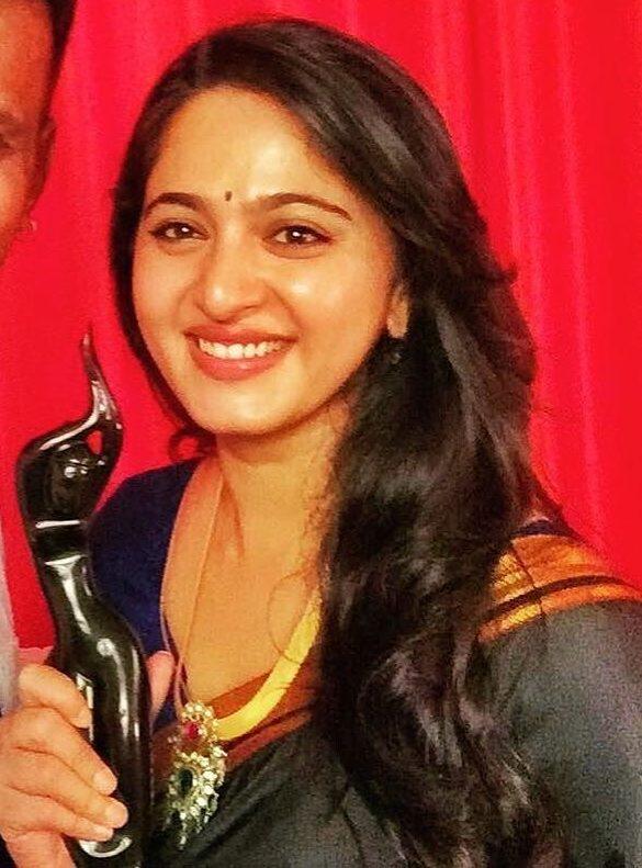 Anushka Shetty winner award