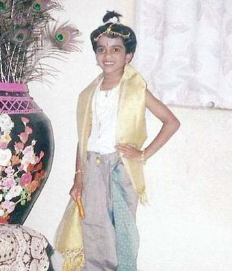 Childhood Picture of P. V. Sindhu