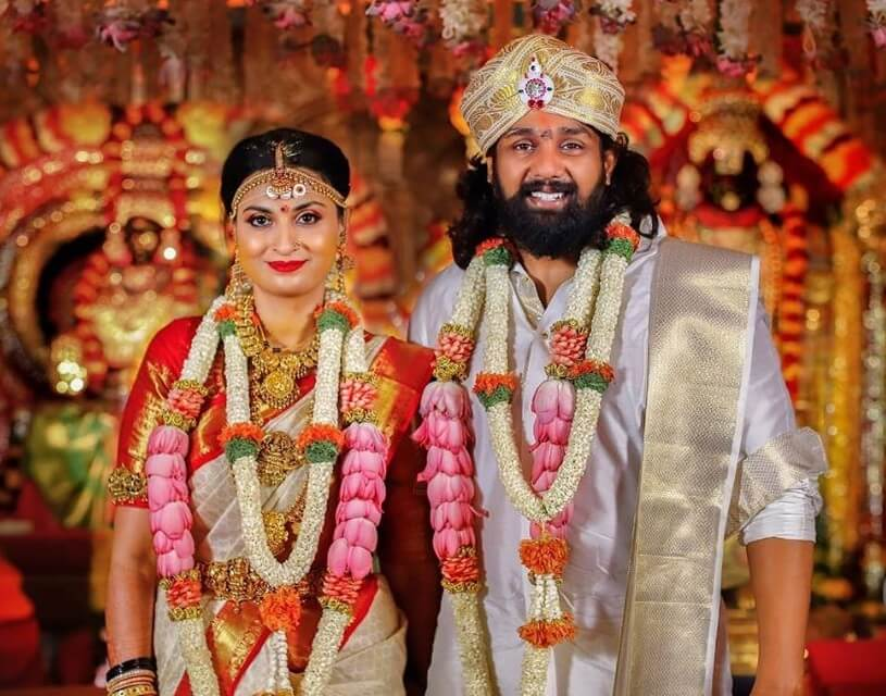 Dhruva Sarja marriage pictures