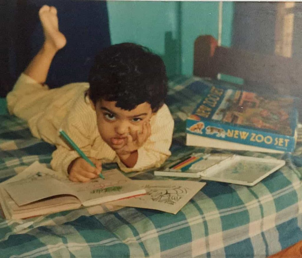 childhood picture of radhika apte
