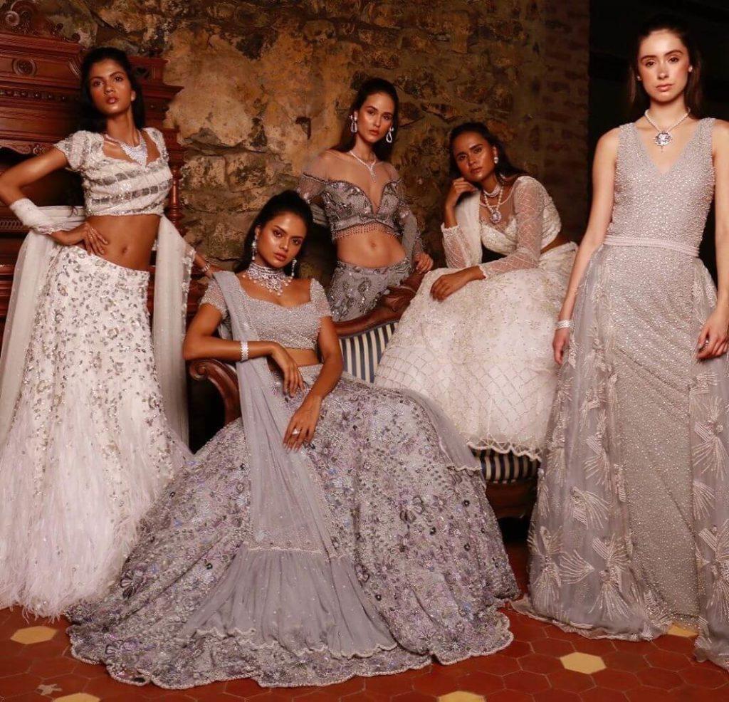 Dresses designed by Natasha Dalal