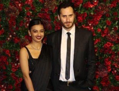 Radhika Apte with her husband Benedict taylor