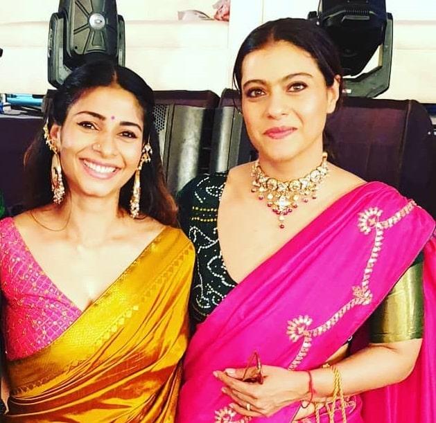 Kajol With Her Sister Tanishaa