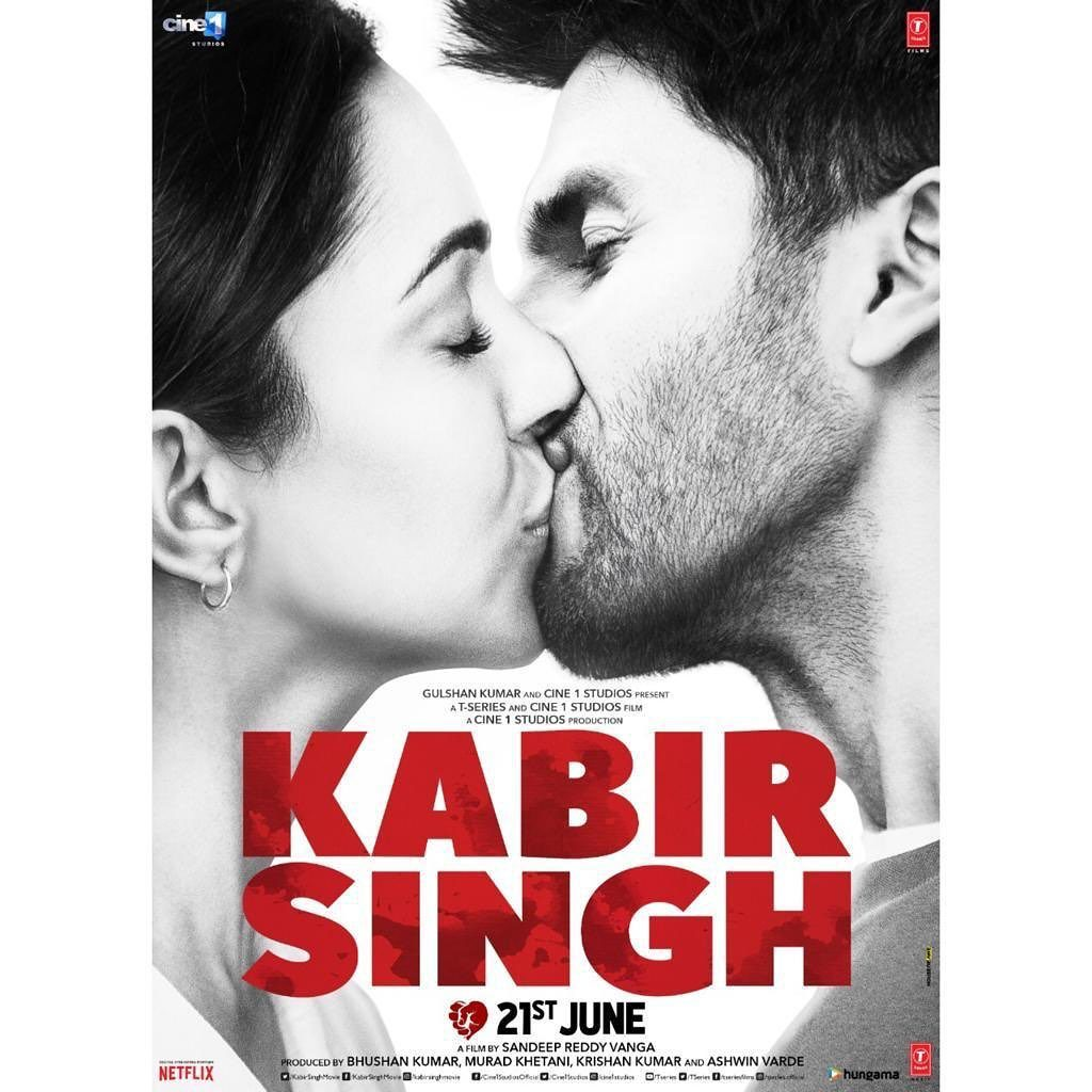 Kiara Advani in film kabir singh