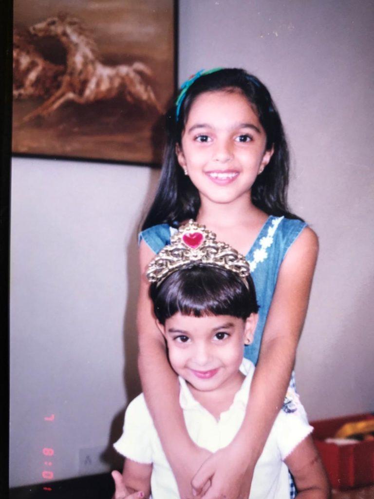 Kiara Advani in her Childhood