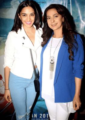 Kiara Advani with Juhi Chawla