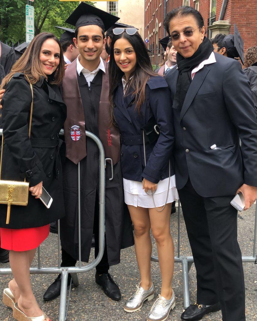 Kiara Advani with her Family