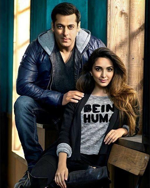 Kiara With Salman Khan