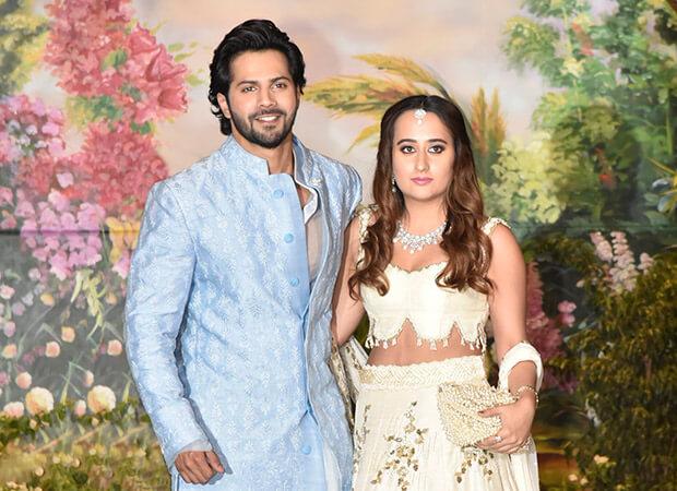 Natasha and Varun Dhawan