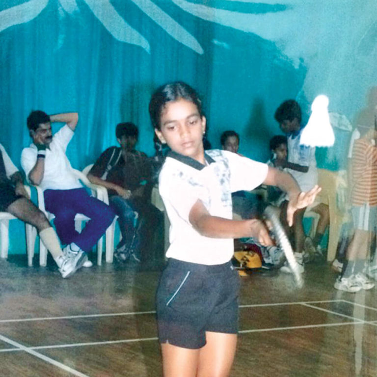P V Sindhu Started Playing Badminton At Young Age