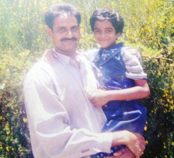 P. V. Sindhu as a Child