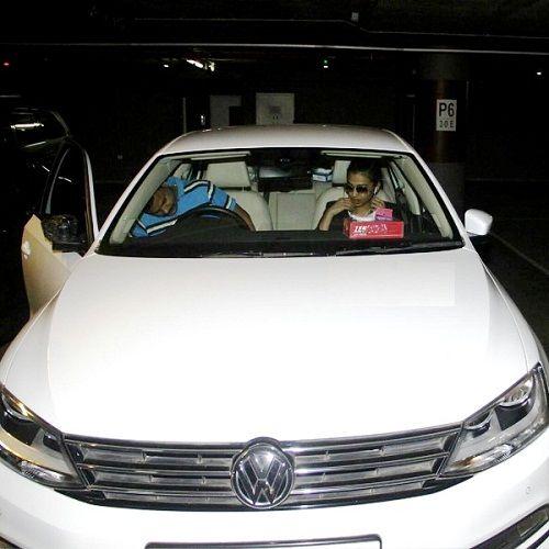 Radhika Apte car