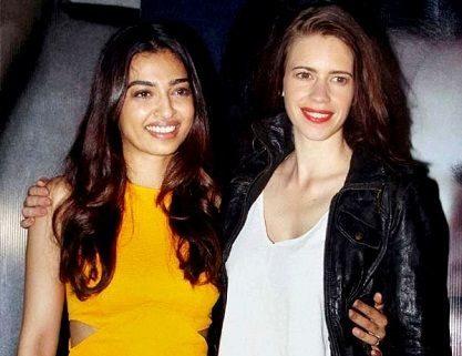 Radhika Apte with Kalki Koechlin