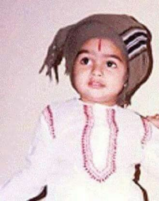 Ram Pothineni in his childhood