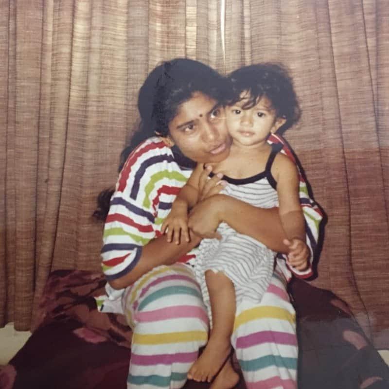 Sai Pallavi as a Child