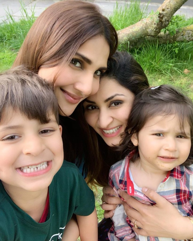Vaani Kapoor with her Sister