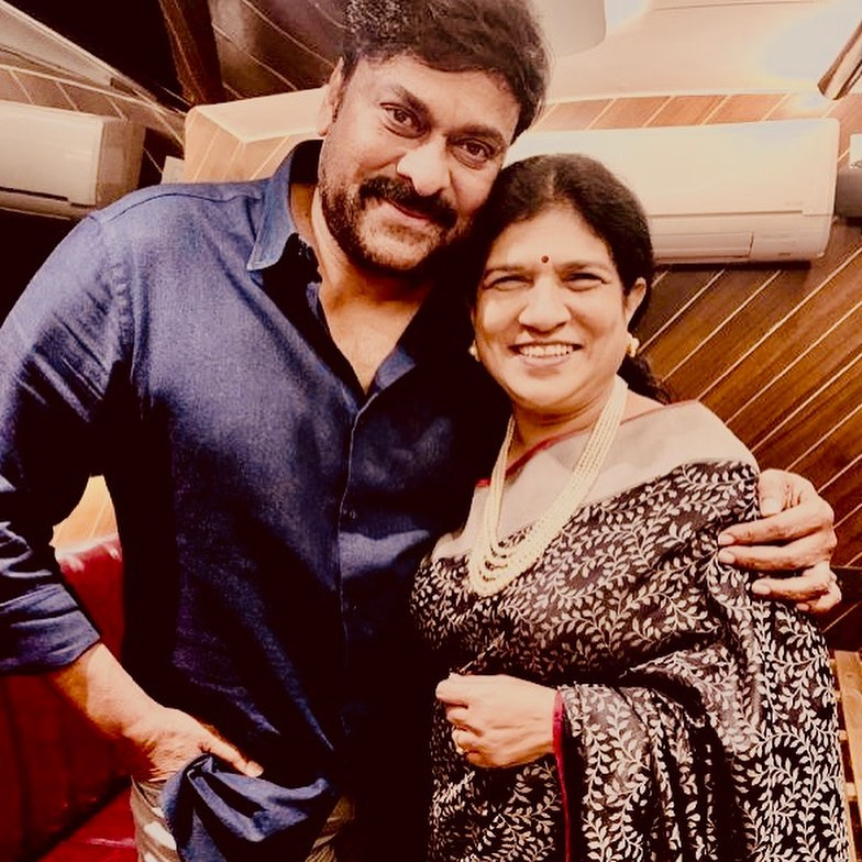 chiranjeevi with his wife surekha