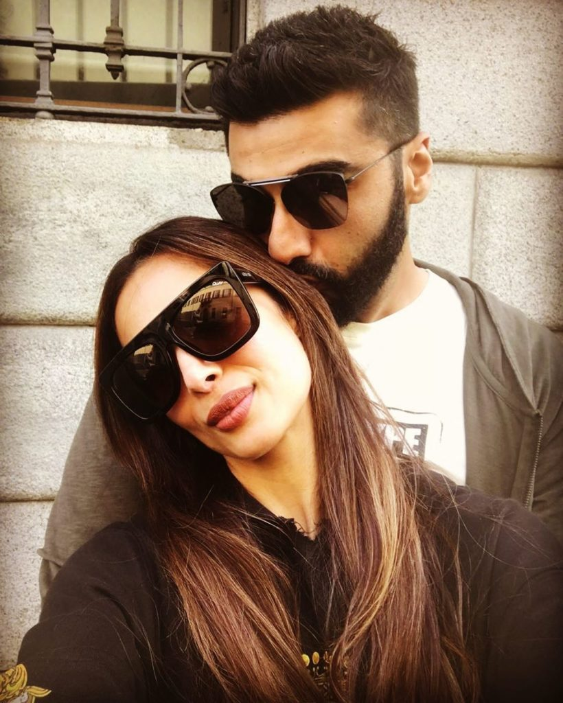Malaika arora with boyfriend arjun kapoor