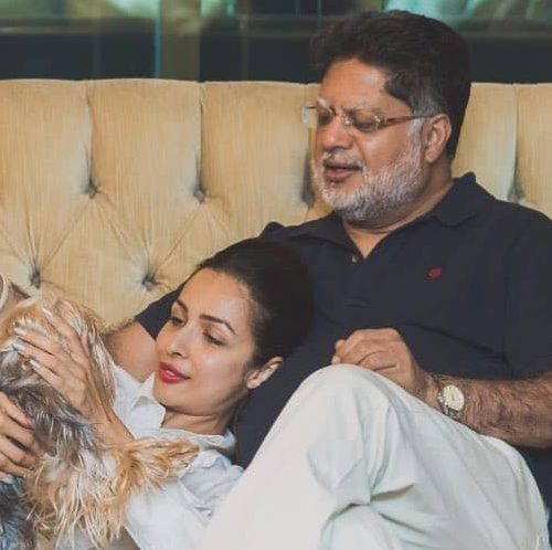 Malaika arora and her father