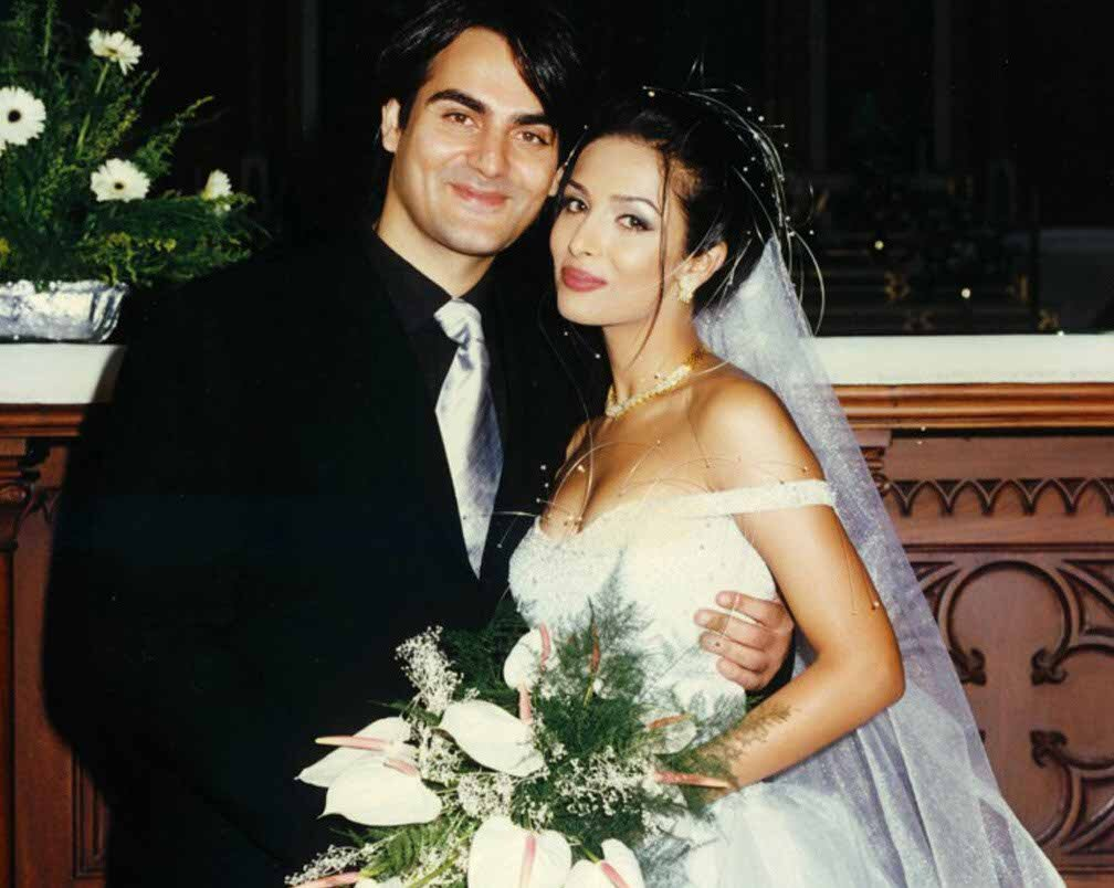 Malaika arora and Arbaaz Khan wedding picture