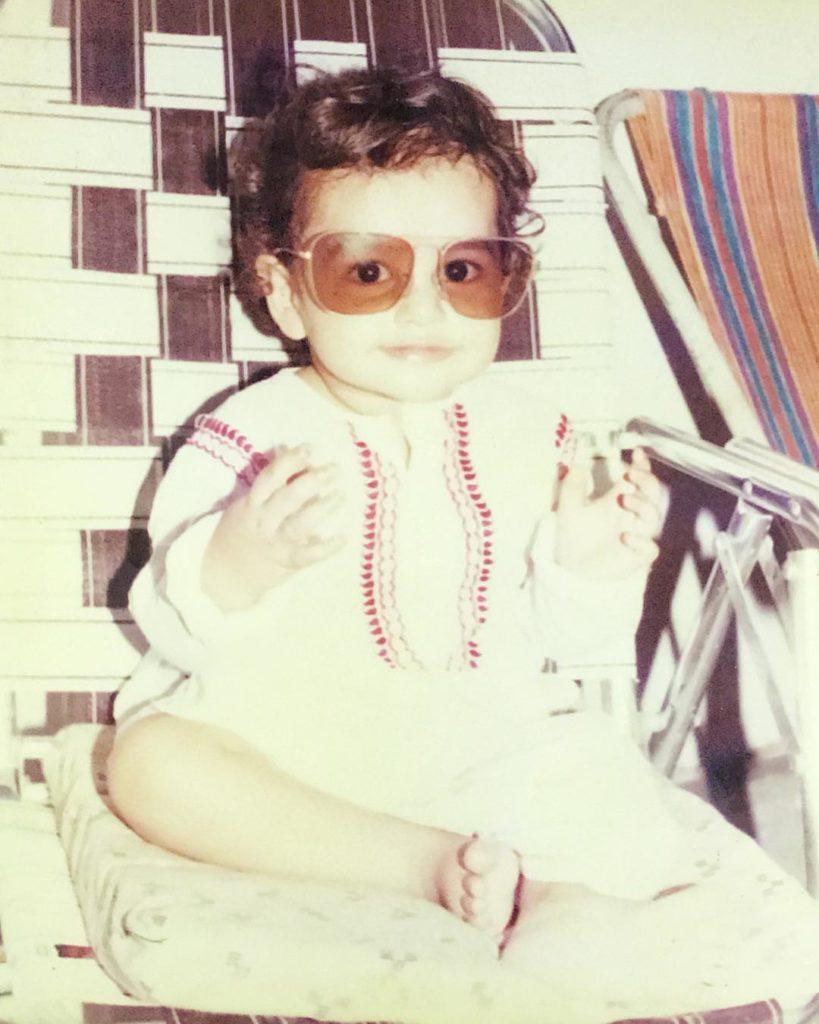 Ram Pothineni childhood picture