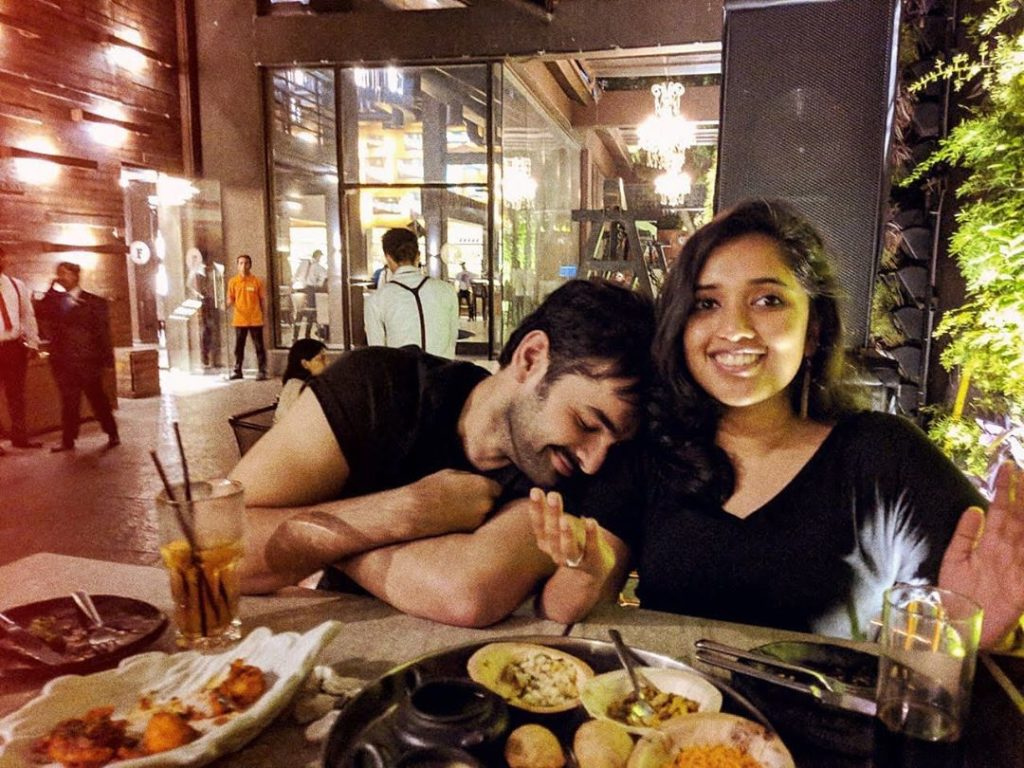 Ram Pothineni with his sister in law