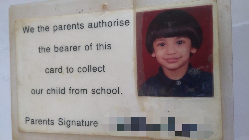 Smriti Mandhana in her childhood