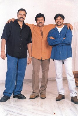 chiranjeevi with his brothers