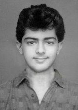 Ajith Kumar in his Childhood