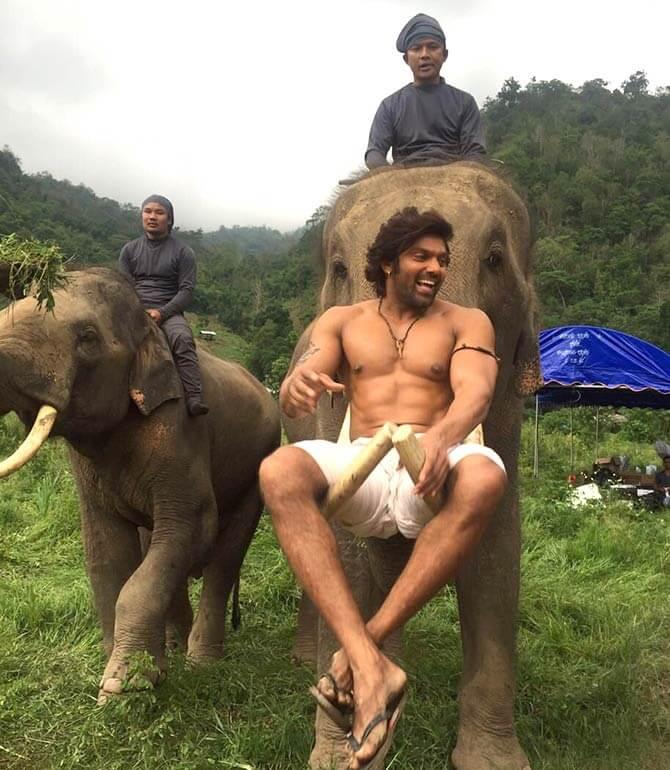 Arya in film Kadamban