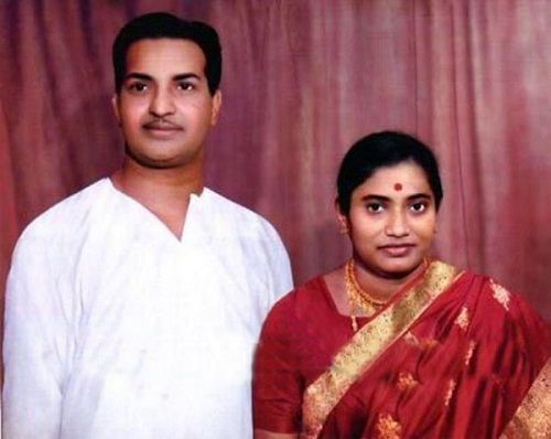 Balakrishna Parents NTR and Basavatarakam