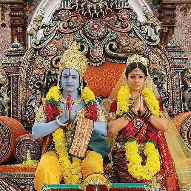 Balakrishna in film Sri Rama Rajyam