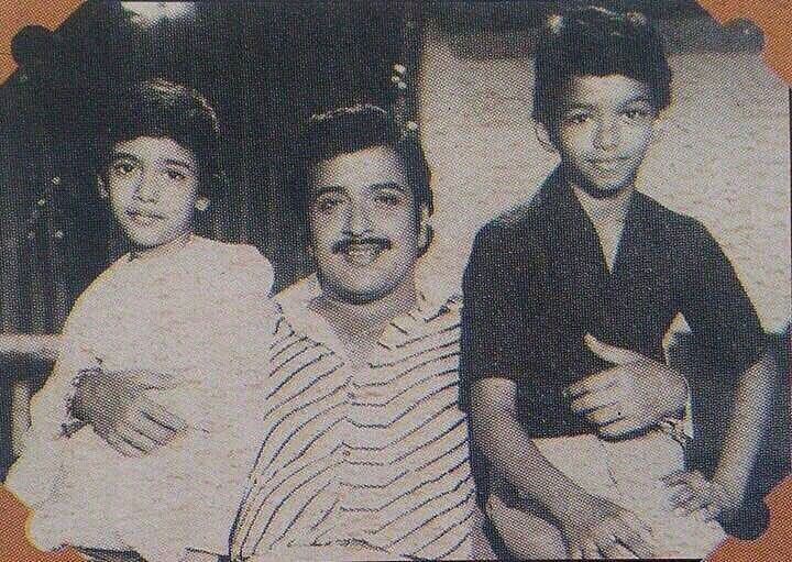 Childhood picture of Suriya