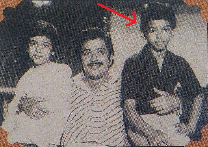 Childhood picture of Vijay