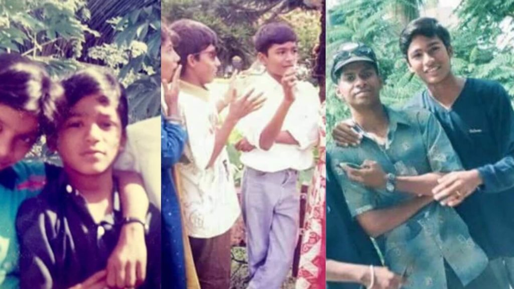 Dhanush childhood Pictures